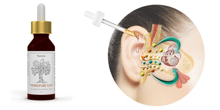 Essayez qui ne contient que des ingrédients naturels Nutresin Herbapure Ear