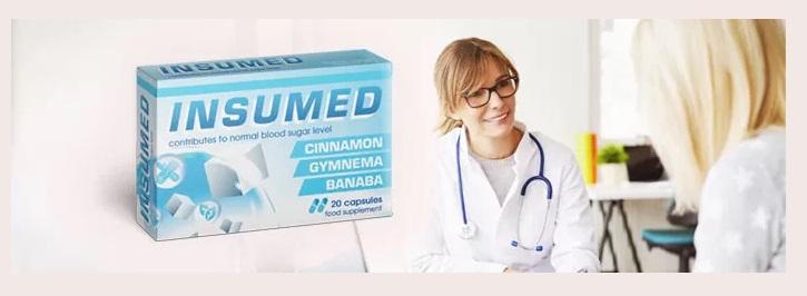 Insumed - ingrédients naturels. Effets d'application