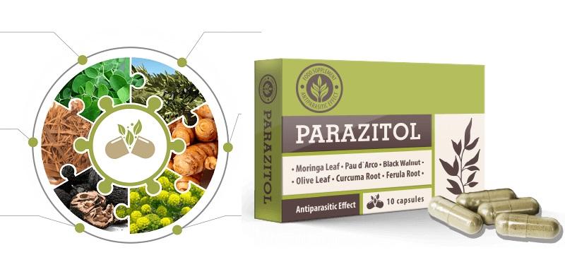 Parazitol - ingrédients naturels. Effets d'application