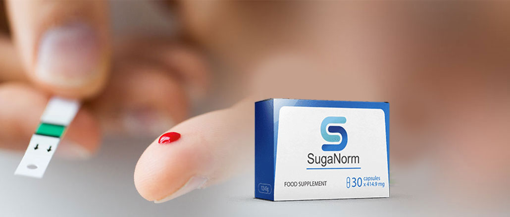Suganorm - ingrédients naturels. Effets d'application