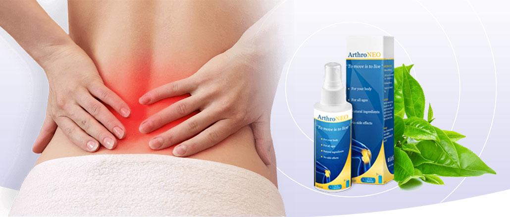 ArthroNeo - ingrédients naturels. Effets d'application